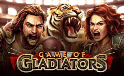 Game of Gladiators on uusi kolikkopeli jota kannattaa kokeilla jo tänään!