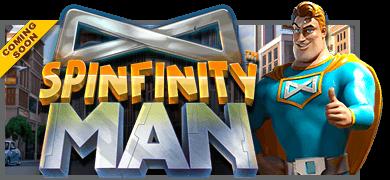 Betsoftin Spinfinity Man vie sinut mukanaan seikkailuun