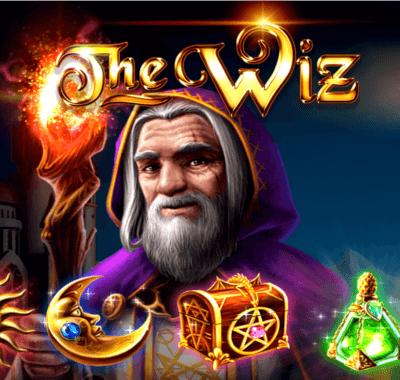 Pelaa The Wiz -kolikkopeliä joko ilmaiseksi tai oikealla rahalla jo tänään